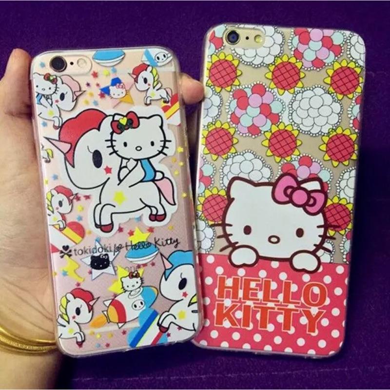 滿版kitty 系列iphone6 iphone6plus 全包式手機保護套手機殼
