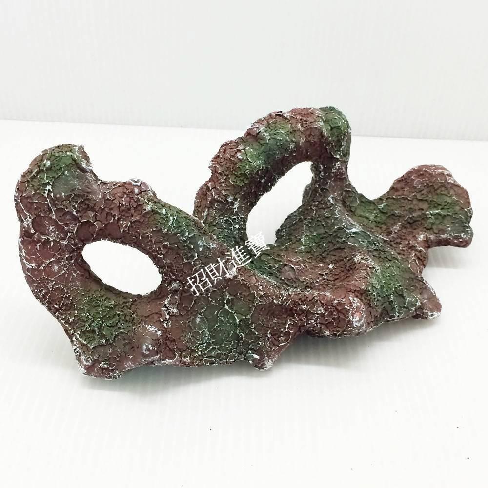 招財進寶M 活礁石珊瑚礁岩洞穴繁殖躲藏產卵裝飾品造景sps lps 短雕慈雕魚淡海水水草缸