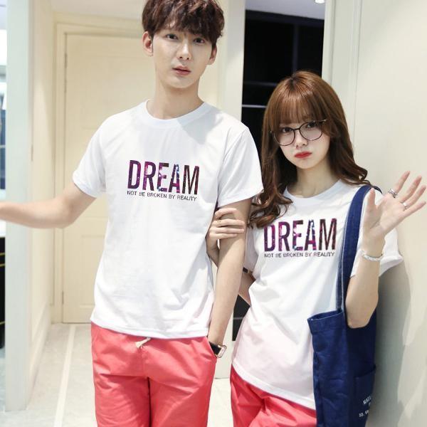 ◆ 出貨◆ 配對情侶裝.客製化.T 恤.班服.MIT 製.班服.文字DREAM ~YC33