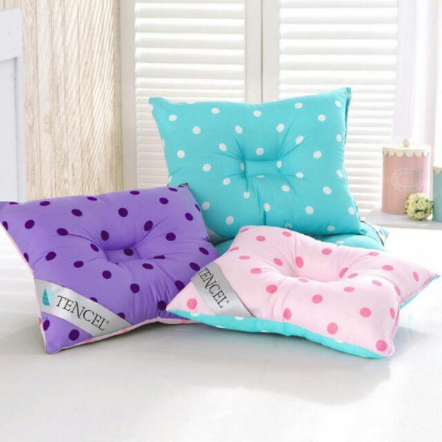 舒眠寢飾 館 當日寄童天絲枕 3 色 可機洗