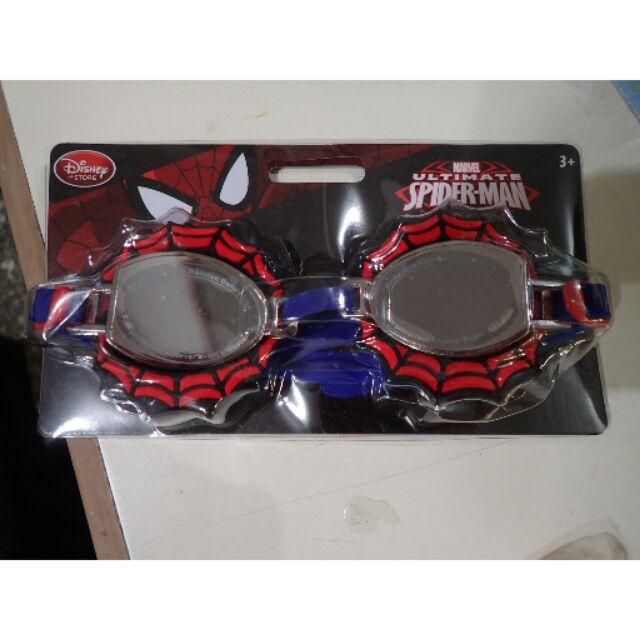 Disney store 美國空運迪士尼蜘蛛人spider man 兒童泳鏡