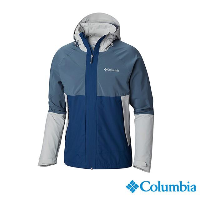 Columbia哥倫比亞 男款-Omni-TECH 防水外套-灰色 URE00250GY