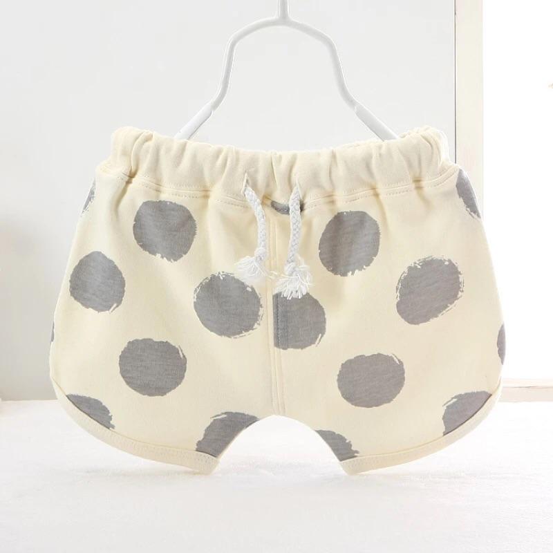 嬰兒短褲夏女童潮褲開襠純棉薄款 男童女童沙灘褲兒童寶寶熱褲
