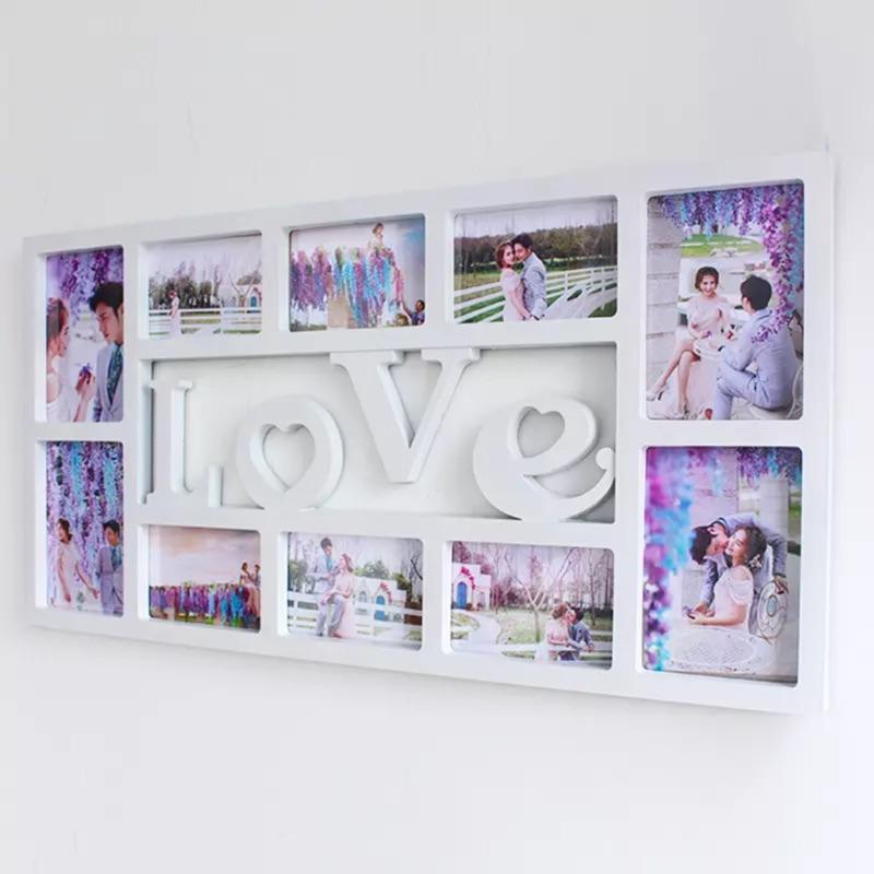 Love Family 相框10 框6 寸7 吋連體相框掛牆 照片牆歐式