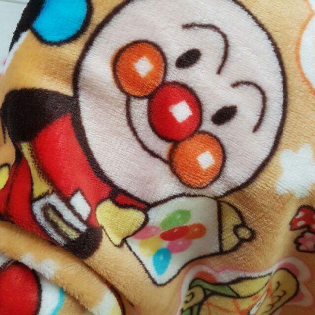 實拍麵包超人法蘭絨空調毯麵包超人枕套細菌人兒童毯午睡蓋毯麵包超人毯毛毯法蘭絨毯麵包超人毯子