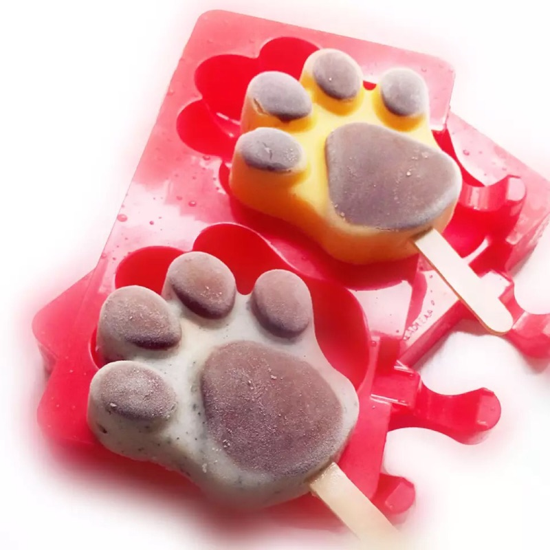 肉球冰棒巧克力模具貓掌熊掌狗狗
