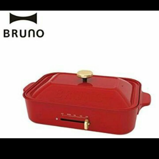 BRUNO 烤盤生鐵鍋BOE021