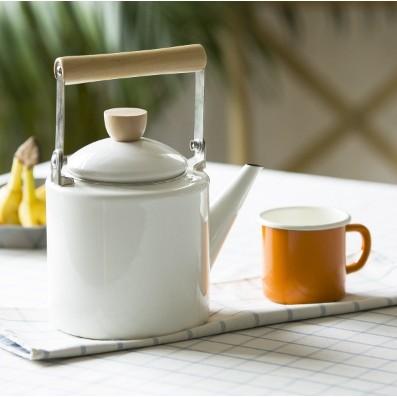 ZAKKA 搪瓷茶壺琺瑯壺燒水壺熱水壺開水壺茶壺咖啡壺復古