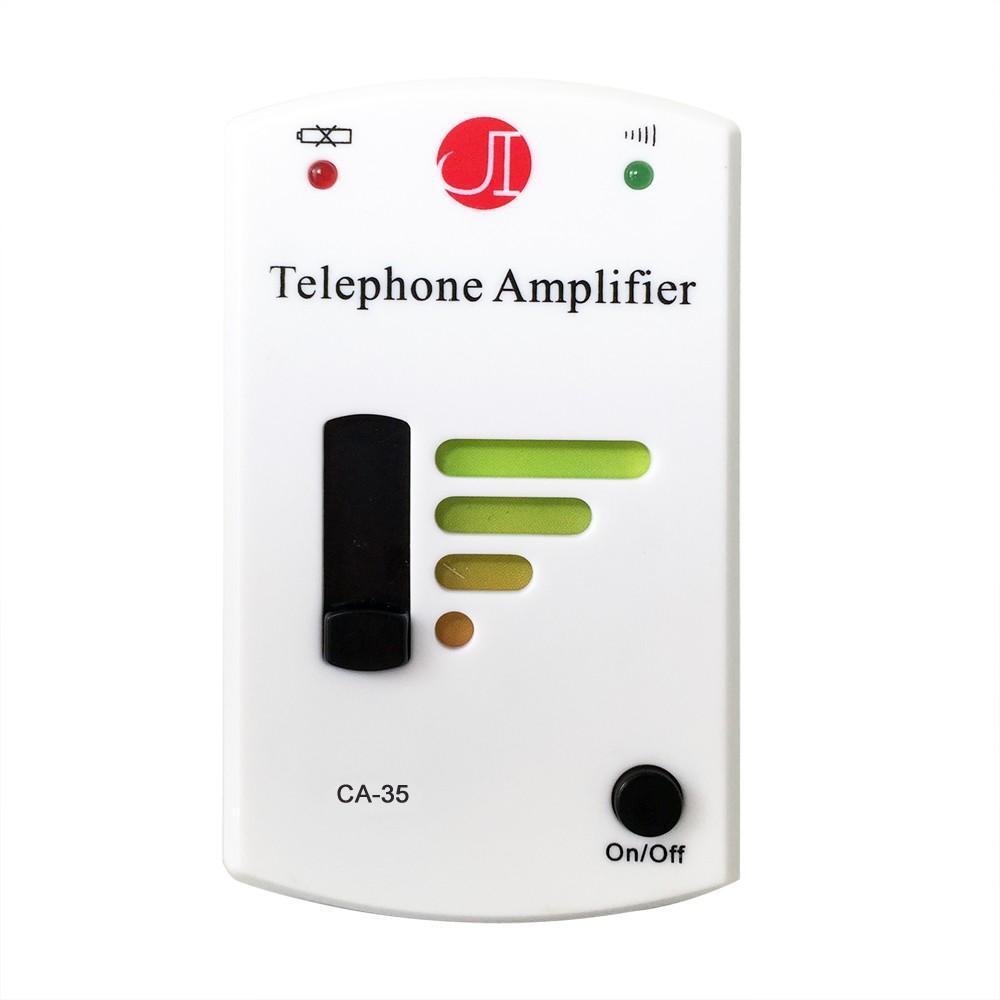 ~國際電通~電話擴音器CA 35 ~附話筒直線~電話放大器擴音器聽筒音量增強