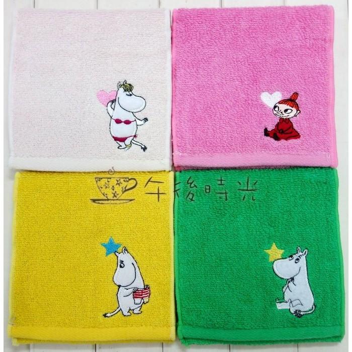 ~午後時光~ 北歐卡通MOOMIN 嚕嚕米姆明亞美小不點小美家庭成員刺繡衛生棉生理用品護墊