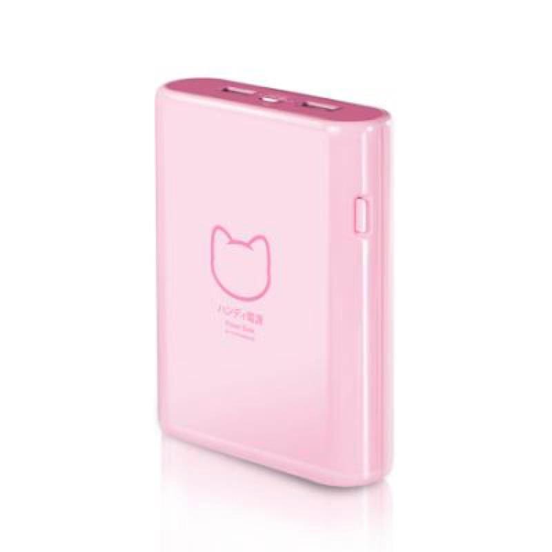 PROBOX HE7 10KU 10400mAh 三洋電芯貓之物語系列行動電源粉紅色
