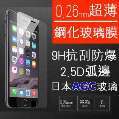 超薄鋼化玻璃貼膜強化玻璃膜iPhone6 Plus S5 HTC M8 SONY Z3 紅