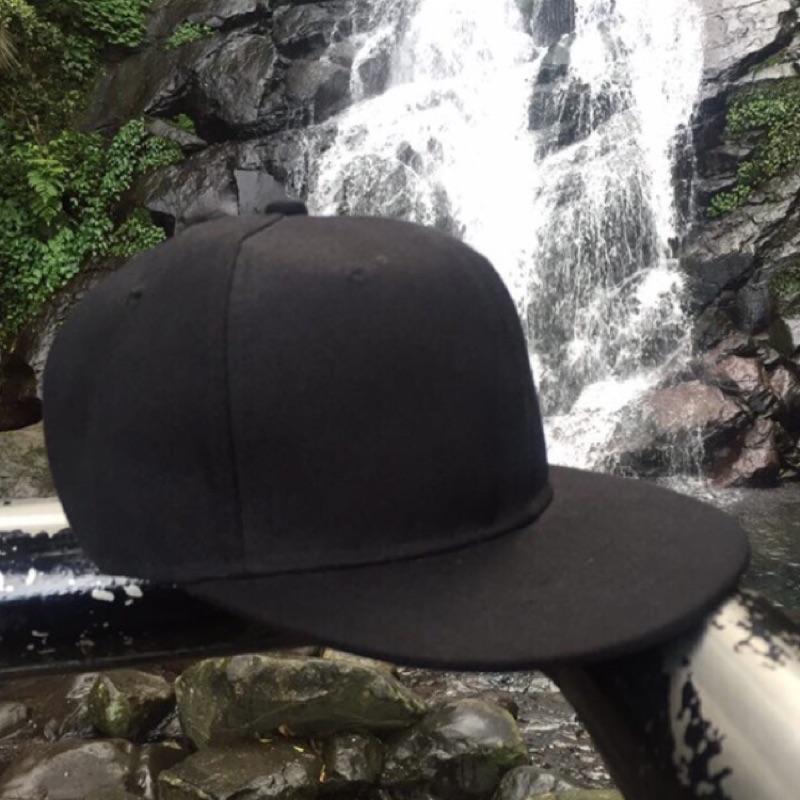 訂製紙箱寄出]SnapBack 素色棒球帽老帽鴨舌帽後扣可調Stussy nike hat