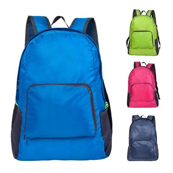 超輕薄可折疊旅行大容量雙肩後背包收納包戶外男女大容量登山包學生書包後背包