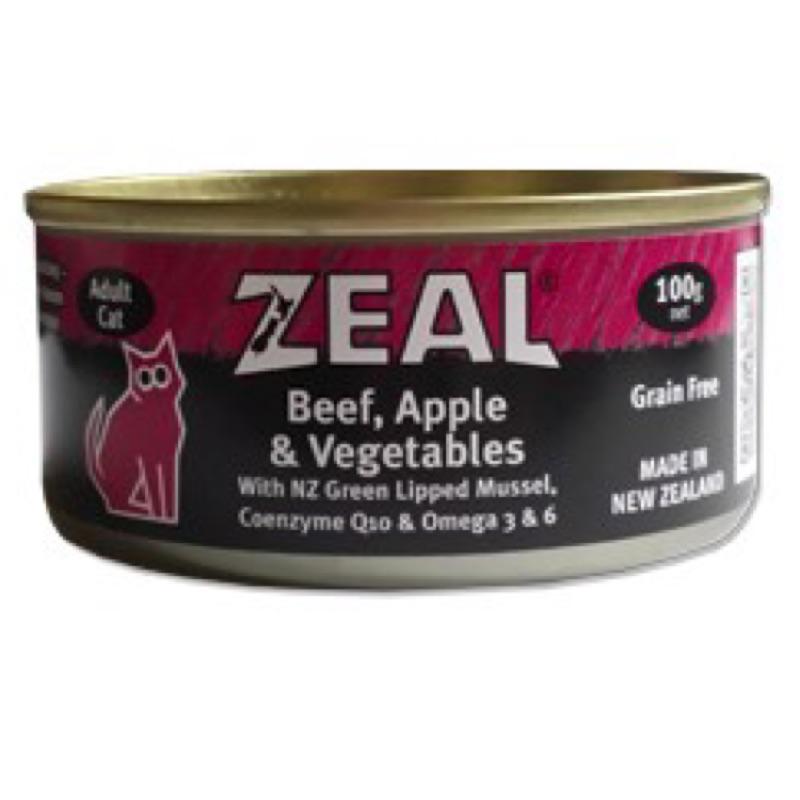 ZEAL 貓 主食餐罐100g