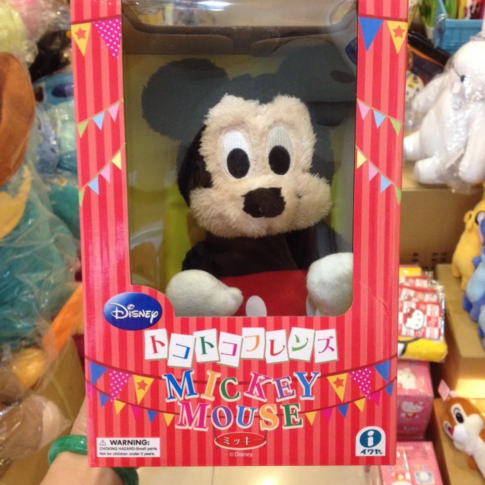 阿虎會社~A 006 ~ 迪士尼Disney 搖擺米奇米老鼠可動唱歌療癒系玩偶走路米奇公仔