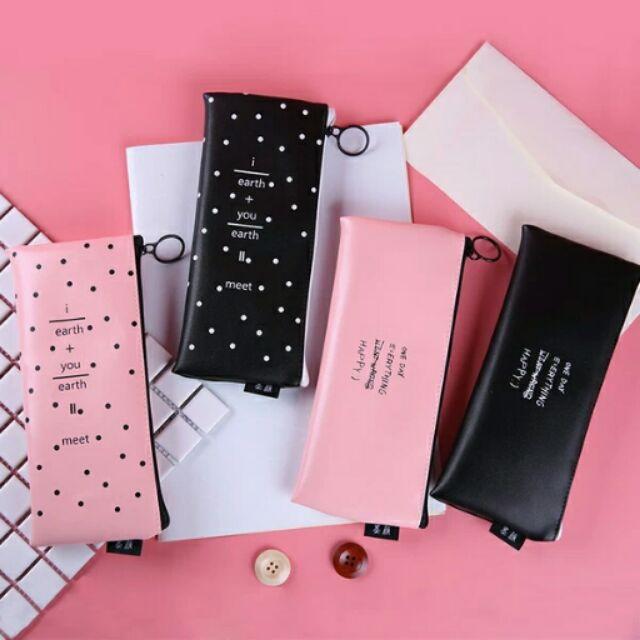 ‼️ ‼️韓國✨日韓簡約筆袋小清新 可愛大容量文具盒鉛筆盒文具袋收納袋