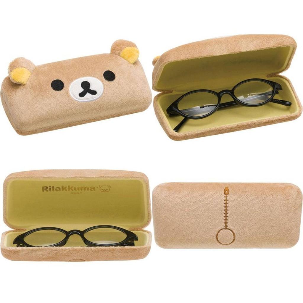 拉拉熊Rilakkuma 硬殼太陽眼鏡眼鏡盒眼鏡收納盒  共三款