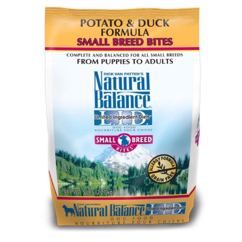 NB 飼料Natural balance 馬鈴薯鴨肉4 5 磅小顆粒全犬
