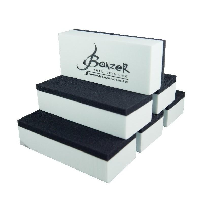 車體鍍膜 海綿6 個BONZER DIY 鍍膜石英鍍膜海綿海綿鑽石玻璃奈米鈦陶瓷紅外線車體