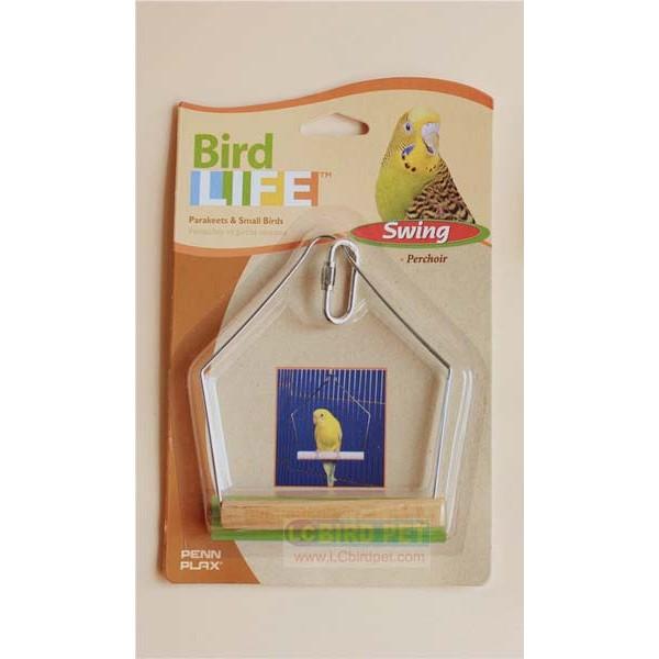 ~來成鳥園~美國品牌PENN PLAX 鳥玩具鞦韆 風格 虎皮小英牡丹玄鳳小太陽文鳥胡錦金