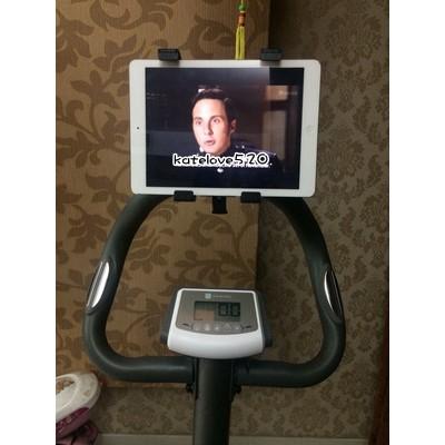 ~ 速發~健身車x bike 平板夾支架ipad 腳踏車踏步機跑步機飛輪磁控健身走路慢跑三
