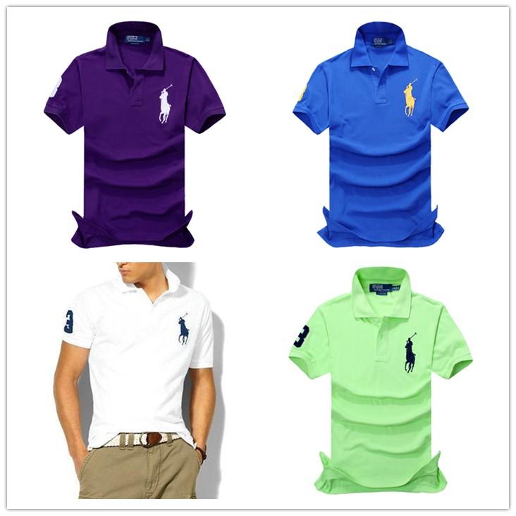 美國大牌ralph lauren 拉夫·勞倫大馬小馬標短袖POLO 衫短袖polo 衫
