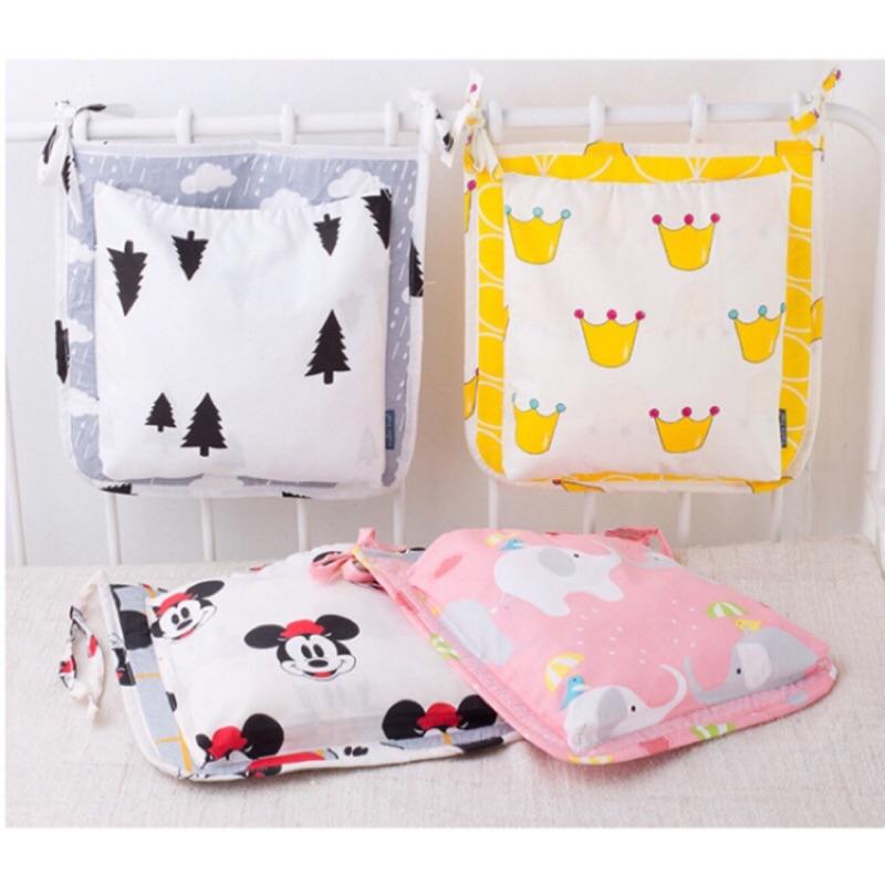 UMI  嬰兒推車收納袋家用儲物袋寶寶床掛袋尿布袋、居家用品