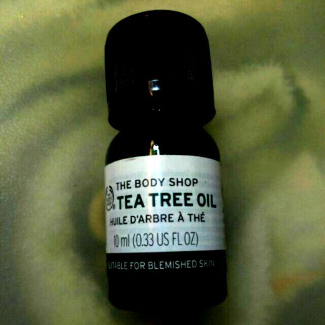 美體小舖the body shop 茶樹精油Tea Tree Oil 10ml