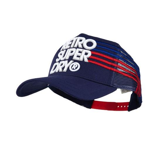 有 照絕對英國正品極度乾燥Superdry Retro 復古帽卡車司機帽棒球帽
