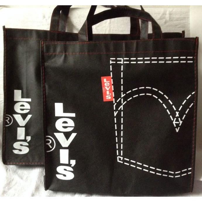 JCH 美國levi s 滿額禮提袋LEVIS ®復古牛仔帆布包手提袋 袋大方包後背包側背