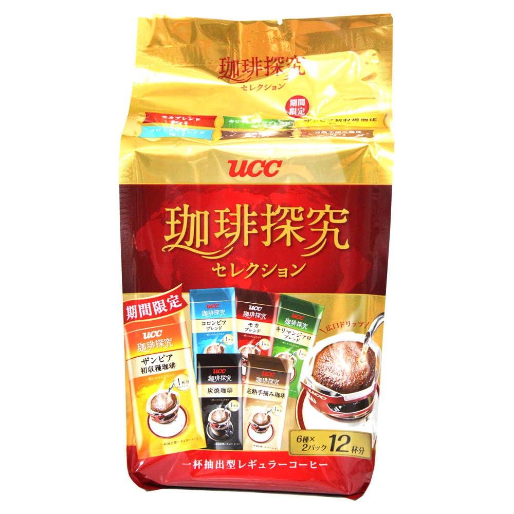 UCC 咖啡探究綜合濾掛式咖啡94g 包