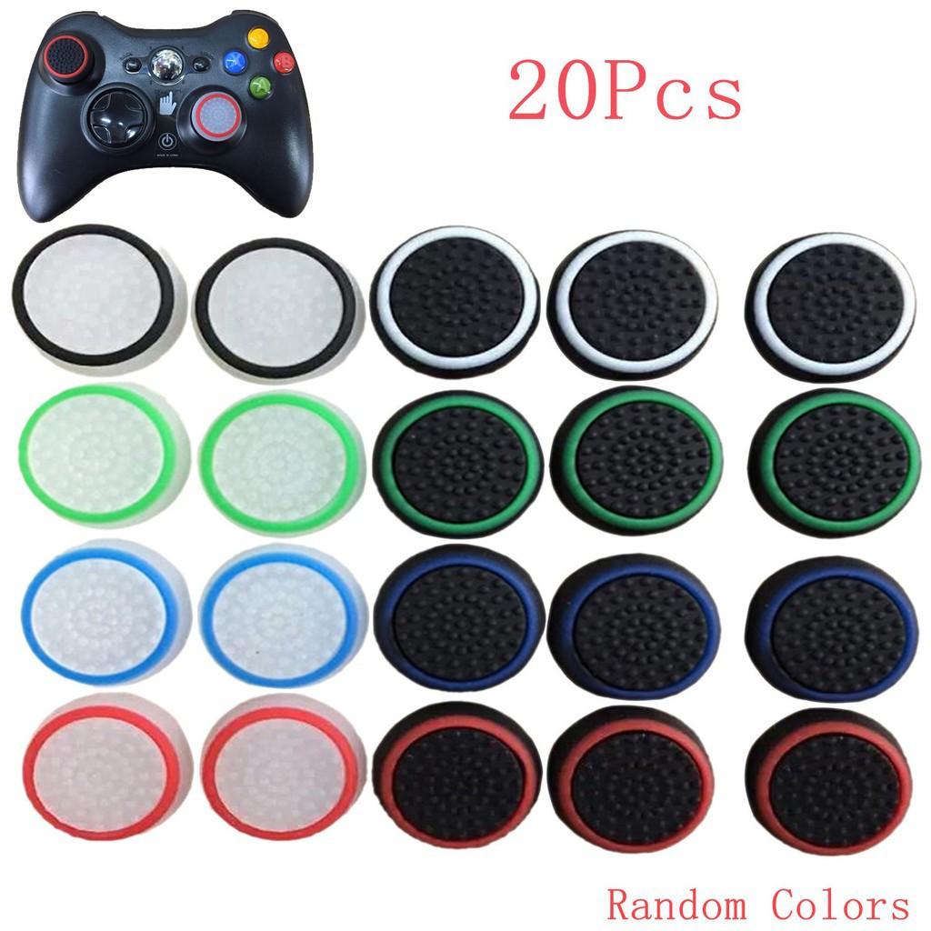 20pcs 多彩操縱桿手柄模擬控制器索尼PS4 Xbox 360 遊戲零件