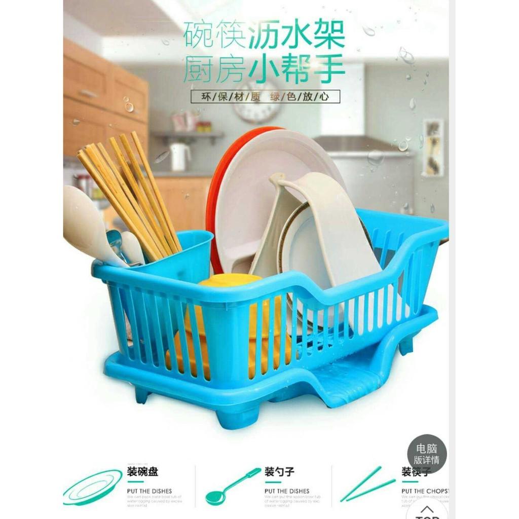 碗盤瀝水架碗筷瀝水架廚房用品洗碗置物架碗碟架水槽碗盤收納筷桶收納架