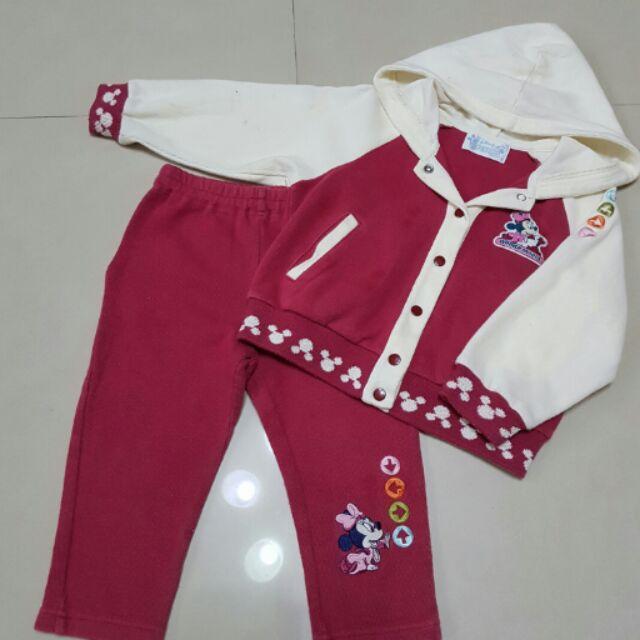 麗嬰房Disney 外套褲子, 2 3 歲