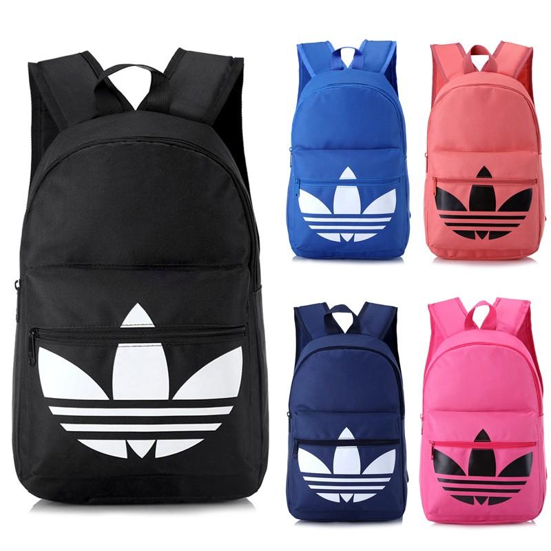 adidas 帆布男女雙肩包後背包學生書包休閒背包電腦包