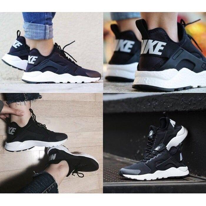 Nike Air Hurarache Run Ultra 華萊士四代耐吉黑武士情侶跑鞋ni