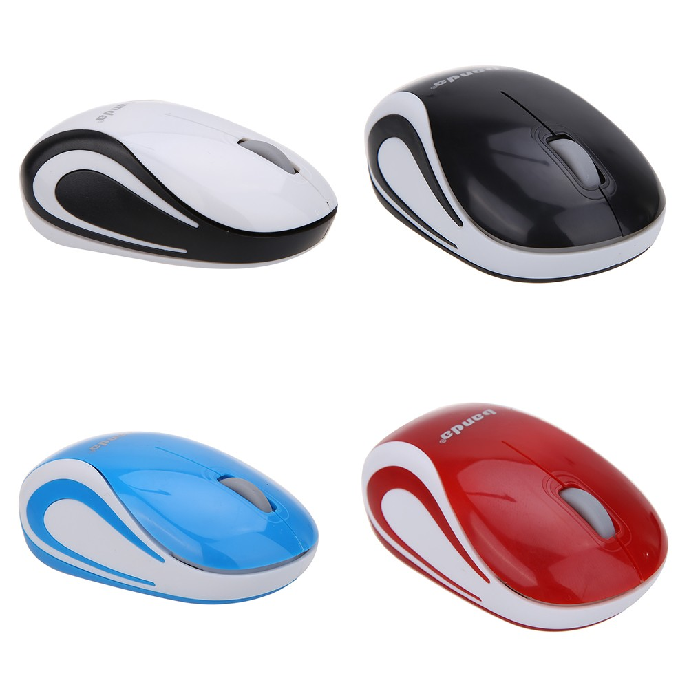無線藍牙滑鼠BD401 黑白藍紅4 色