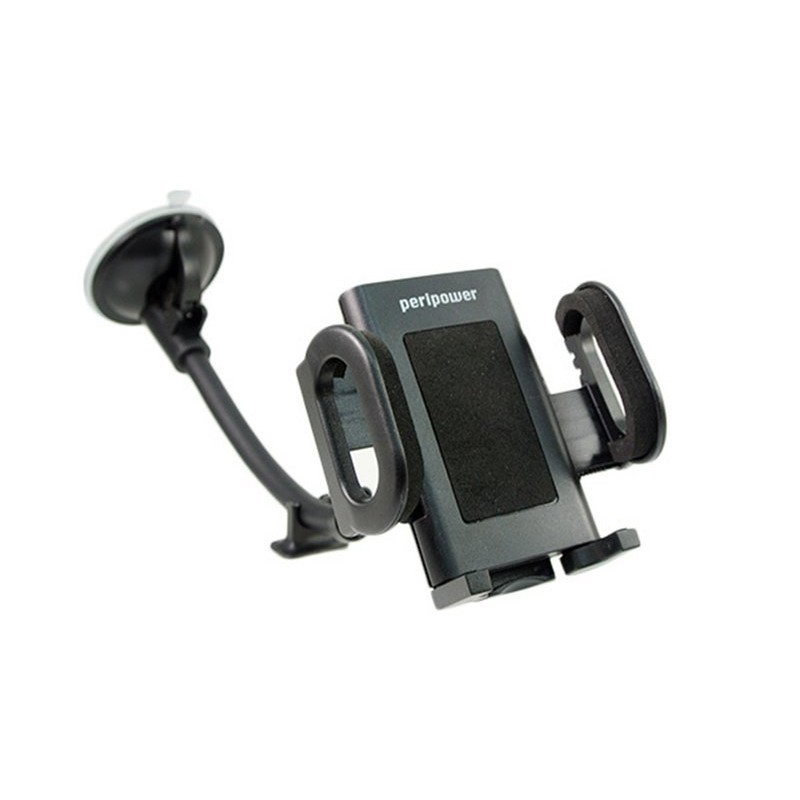 權世界汽車用品PeriPower 萬用型智慧型手機車用吸盤固定車架27cm 可旋轉8PPE