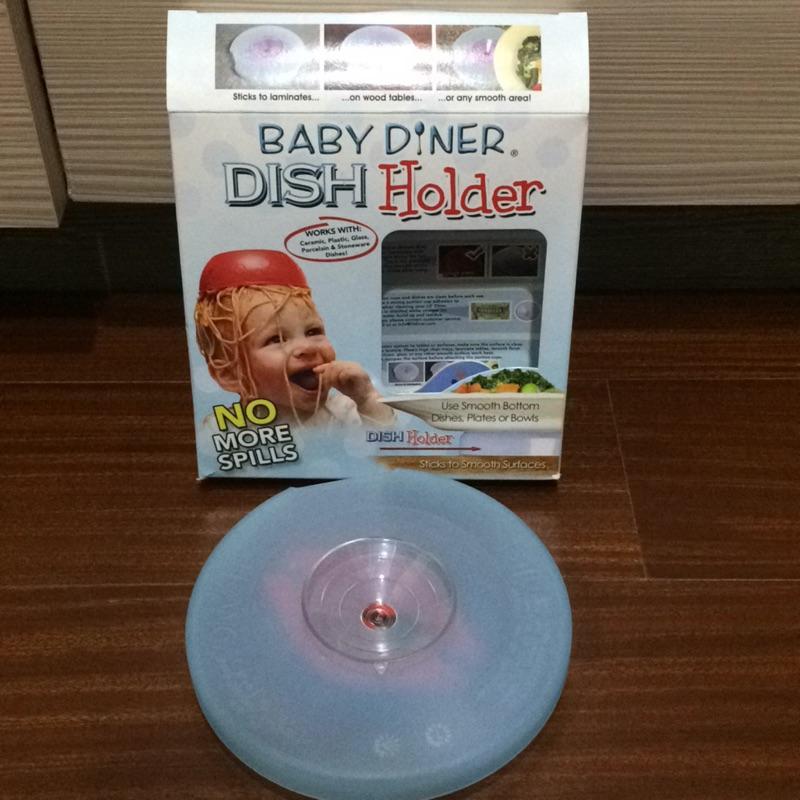 (售出)美國BABY Diner Dish Holder 寶寶餐具吸盤