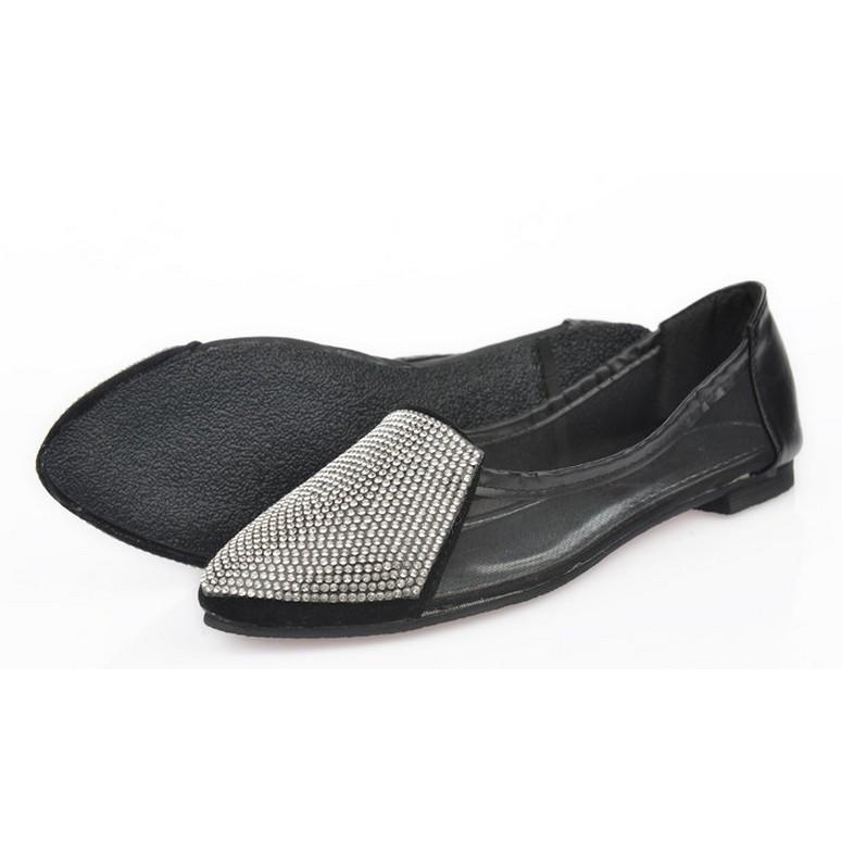 歐洲站單尖頭鞋平跟鞋瓢镂空網紗水鑽女鞋  圓頭低跟鞋尖頭低跟鞋圓頭高跟鞋尖頭高跟鞋厚底涼鞋