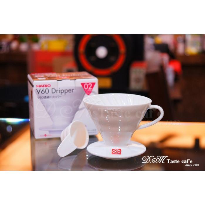 D M Taste caf e  HARIO VDC 02 V60 陶瓷圓錐咖啡濾杯手沖V