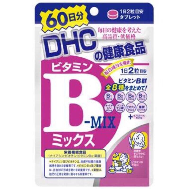 DHC 維他命B 維生素B 60 日60 天大份量B 群