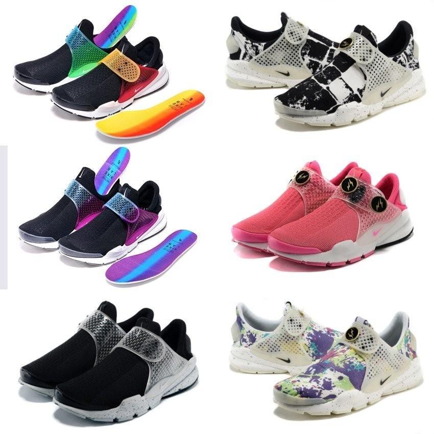 夏天花園 Nike SOCK DART SP FRAGMENT 藤原浩黑白情侶款慢跑鞋男女