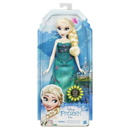 DISNEY PRINCESS 迪士尼 公主冰雪奇緣之驚喜連連艾莎公主