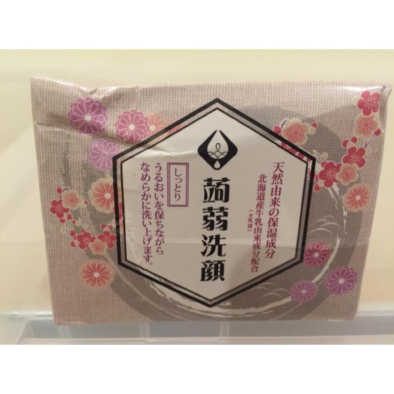 美島水肌大阪限定蒟蒻洗顏皂乳清QQ 皂