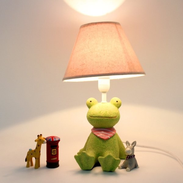 Laipi 小物~ZAKKA 雜貨風可愛卡通仰望星空小動物臥室裝飾檯燈仰望天空夜燈床頭燈青