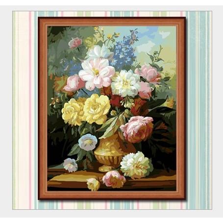 咪雅 藝限郵寄 油畫40X50 雍容華貴手繪油畫壁貼壁畫藝術品藝術畫