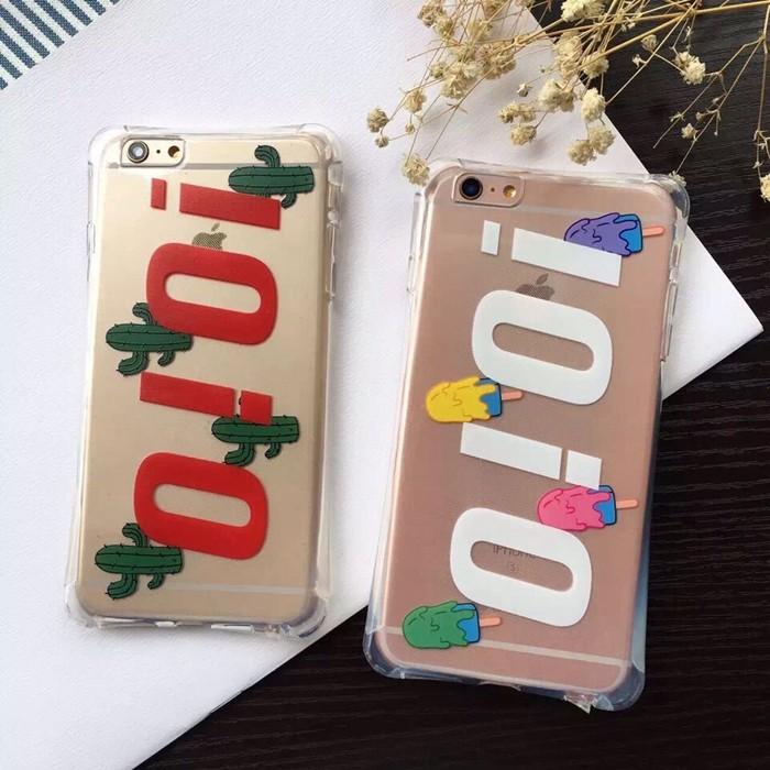 韓國泫雅同款IOIO iphone6 手機殼5S 全包防摔蘋果6splus 空壓殼