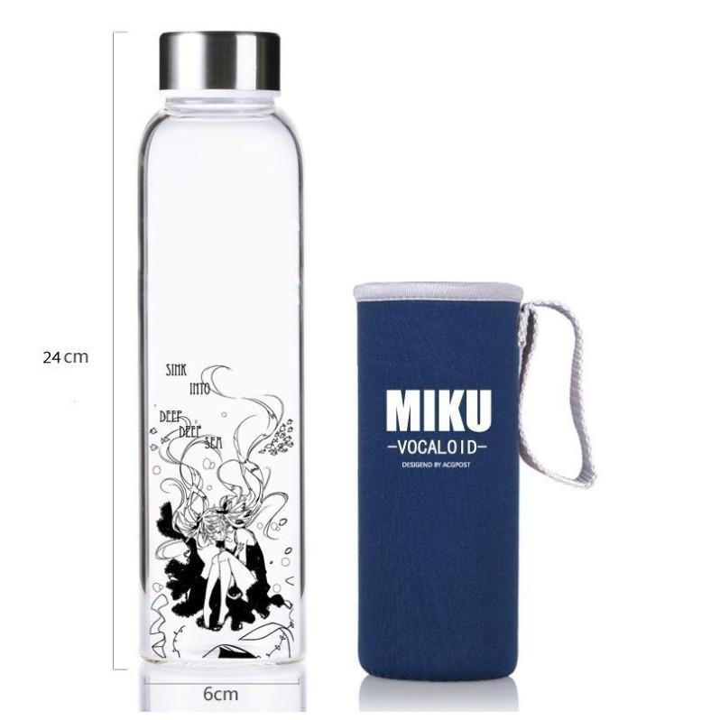 ~MAMMON ~初音動漫鋼化玻璃瓶550ML 附提袋訂購
